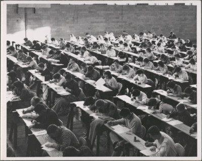 Historic Photo of Towson Classroom