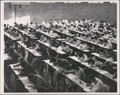 Historic Photo of Towson Classroom