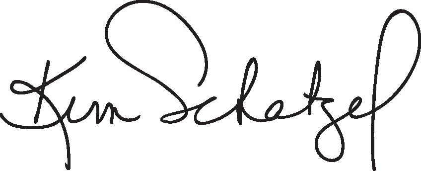 Kim Schatzel's Signature